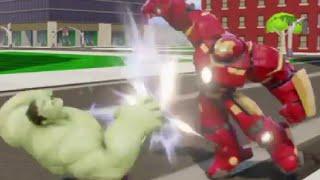 getlinkyoutube.com-Disney Infinity Games - Season 3.0: Hulk vs. Hulkbuster