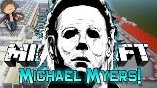 getlinkyoutube.com-Minecraft: MICHAEL MYERS Mini-Game Challenge w/Mitch & Friends!