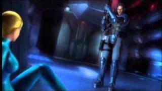 getlinkyoutube.com-Every shot of Zero Suit Samus in Metroid: Other M