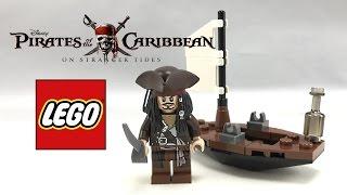 getlinkyoutube.com-Rare LEGO Pirates of the Caribbean Jack Sparrow's Boat review! 30131!