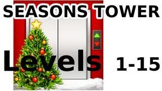 getlinkyoutube.com-100 Floors - ALL LEVELS - Christmas Special - Seasons Tower - Walkthrough
