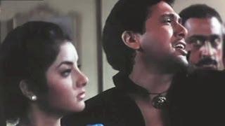getlinkyoutube.com-Tere Mere Pyar Mein - Govinda, Divya Bharati, Shola Aur Shabnam Song