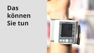 Blutdruck messen: So geht es richtig!