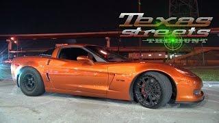 getlinkyoutube.com-1400hp H8R MAKER Corvette vs The TEXAS STREETS
