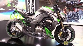 getlinkyoutube.com-2015 Kawasaki Z1000 - Walkaround - 2014 EICMA Milano Motocycle Exhibition