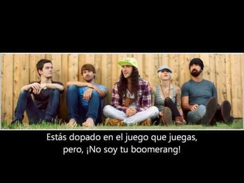 Boomerang En Español de Walk Off The Earth Letra y Video