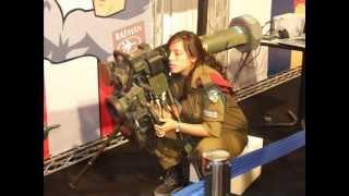 getlinkyoutube.com-Beautiful Women from Israel Defense Forces - IDF Girls