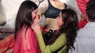 Jhanvi & Khushi Kapoor CRYING At Dhadak Trailer Launch