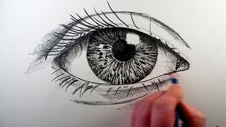 getlinkyoutube.com-How To Draw A Realistic Eye: Narrated Step by Step