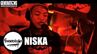 getlinkyoutube.com-Niska - Freestyle #CharoLife (Live des studios de Generations)