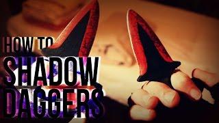 getlinkyoutube.com-How To Make: CS GO Shadow Daggers (IRL)