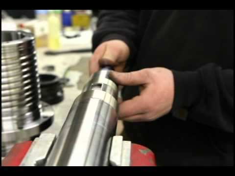 Bridgeport Spindle Repair | Shaft and Drawbar