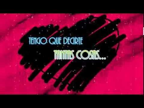 Palabras Rotas de Felipe Santos Letra y Video