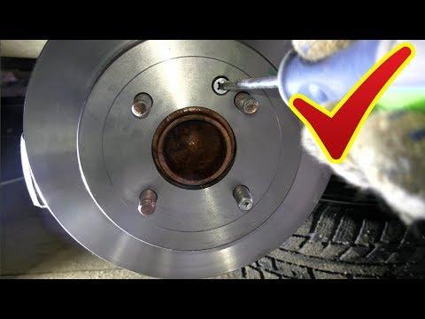 Замена задних тормозных дисков и колодок+обслужи вание суппорта на Солярисе или Киа Рио