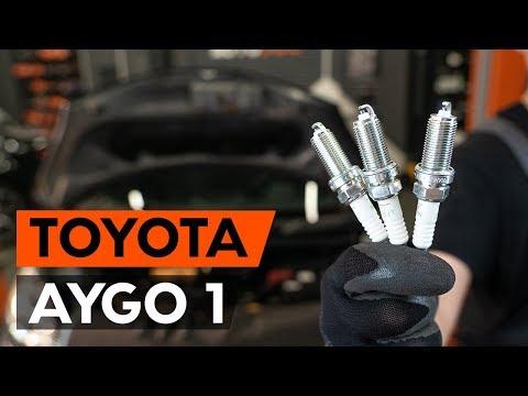 Как заменить свечи зажигания на TOYOTA AYGO 1 (AB10) (ВИДЕОУРОК AUTODOC)