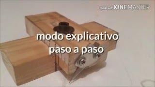 getlinkyoutube.com-Como hacer cortador de maderas casero ( how to make homemade wood cutter