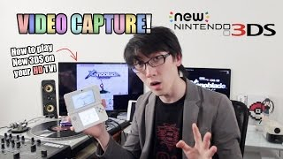 getlinkyoutube.com-New 3DS - How to Play on HD TV! [Video Capture Card by KatsuKity]