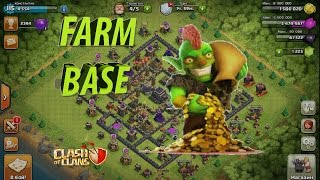getlinkyoutube.com-фарм база на тх9 I clash of clans