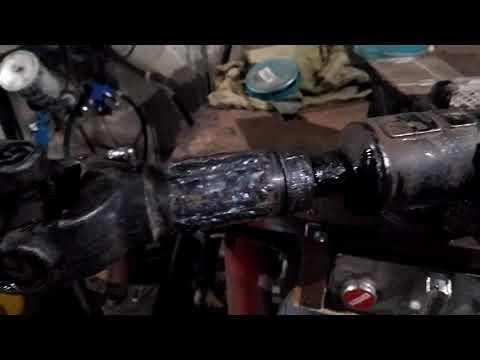 Ремонт шлицевой кардана полевой (сваркой)