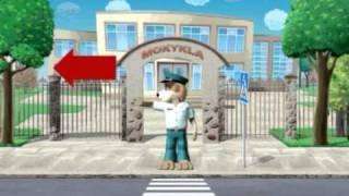 getlinkyoutube.com-Saugiai elgtis gatvėje vaikus moko Amsis