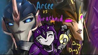 getlinkyoutube.com-Jetstream: Transformers Prime - Arcee VS Airachnid