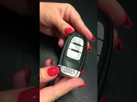Jak zmienic baterie w pilocie? How to change fob battery in Audi A4 B8? By Sylvia