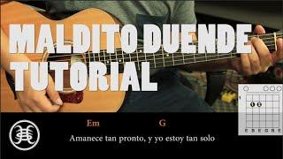 """getlinkyoutube.com-Como tocar """"Maldito Duende"""" de Héroes del Silencio - Tutorial Guitarra (HD)"""