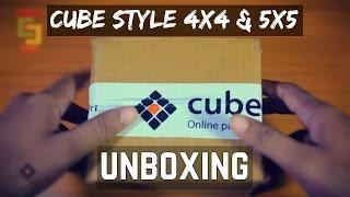 getlinkyoutube.com-CUBE STYLE 4x4 & 5x5 UNBOXING [cubelelo.com]
