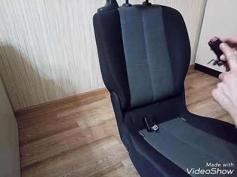РЕНО СЦЕНИК 2 снятие обивки сидений