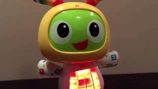 getlinkyoutube.com-BeatBo Fisher-Price Dancing Space Robot Toy Super Fun for Kids