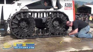 getlinkyoutube.com-How-to Install Skid Steer Tracks | Skid Steer Solutions
