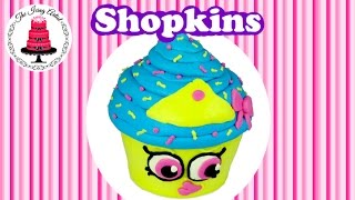 getlinkyoutube.com-Shopkins Cupcake Queen Cake - How To With The Icing Artist