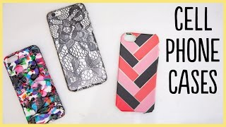 DIY | Cell Phone Cases (Cute and Easy!!)
