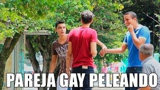 PELEA PAREJA GAY - BROMA - BORKEANDO