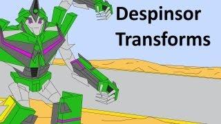 getlinkyoutube.com-Transformers Prime: Dispensor Transforms