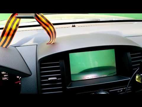 Передняя камера на Nissan Pathfinder