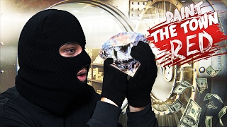 ROBBING A BANK | Paint The Town Red (NEW LEVELS)