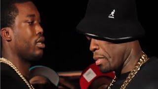 getlinkyoutube.com-Meek Mill & 50 Cent Send Shots At Each Other!