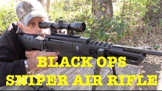 getlinkyoutube.com-BLACK OPS Sniper Rifle - Air Rifle Review