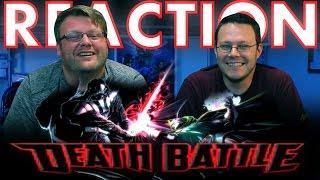 Darth Vader VS Doctor Doom DeathBattle REACTION!!