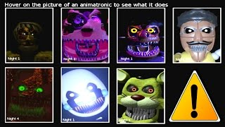 getlinkyoutube.com-FNaF PSFC ... All NEW Animatronic Jumpscares
