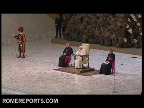 Pope�s General Audience  The Eucharist is not