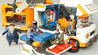 getlinkyoutube.com-또봇 쪼꼬베이스 이동기지 태권K 또봇 17기 탐험대 카봇 터닝메카드 미니특공대 타요 장난감 Tobot Base Trailer Transfomer Toys игрушка おもちゃ