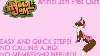 getlinkyoutube.com-ANIMAL JAM - How to Get Free Chat (NO MEMBERSHIP!)