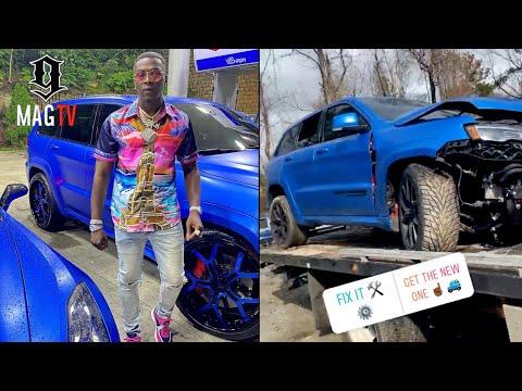 Bankroll Freddie Nearly Totals His $100k Jeep TrackHawk! ?