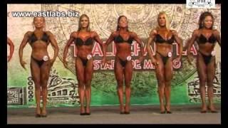 getlinkyoutube.com-World women's championship IFBB, Mexico City 2010. - Body Fitness semi final up to 158cm