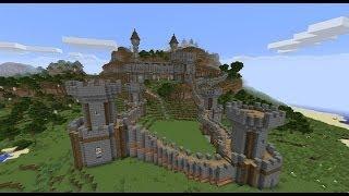 getlinkyoutube.com-Minecraft - Постройки - Средневековый замок