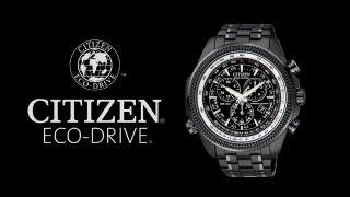 getlinkyoutube.com-Citizen Eco-Drive Perpetual Calendar Chronograph Model No. BL5405-59E Men's Watch Review