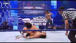 getlinkyoutube.com-Carlito, Primo, and Brie Bella vs John Morrison, The Miz, and Nikki Bella