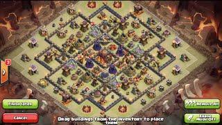 getlinkyoutube.com-Clash of Clans-BEST! Epic New Th10 Trophy/Clan War Base Design w/275 Walls